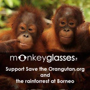 Save the Orang Utan, nachhaltige Brillenfassungen