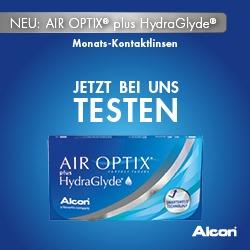 Mehr Feuchtigkeit für Ihre Augen mit AIR OPTIX® Kontaktlinsen
