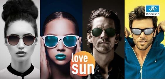 love sun. Unsere Aktion mit Sonnenschutzgläsern - Sonnenbrillenaktion love sun