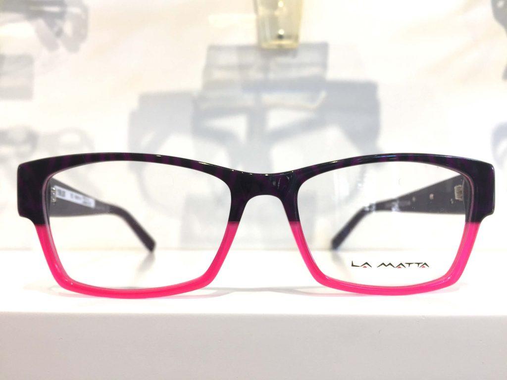 Farbige Brille-Optik-Westermeier