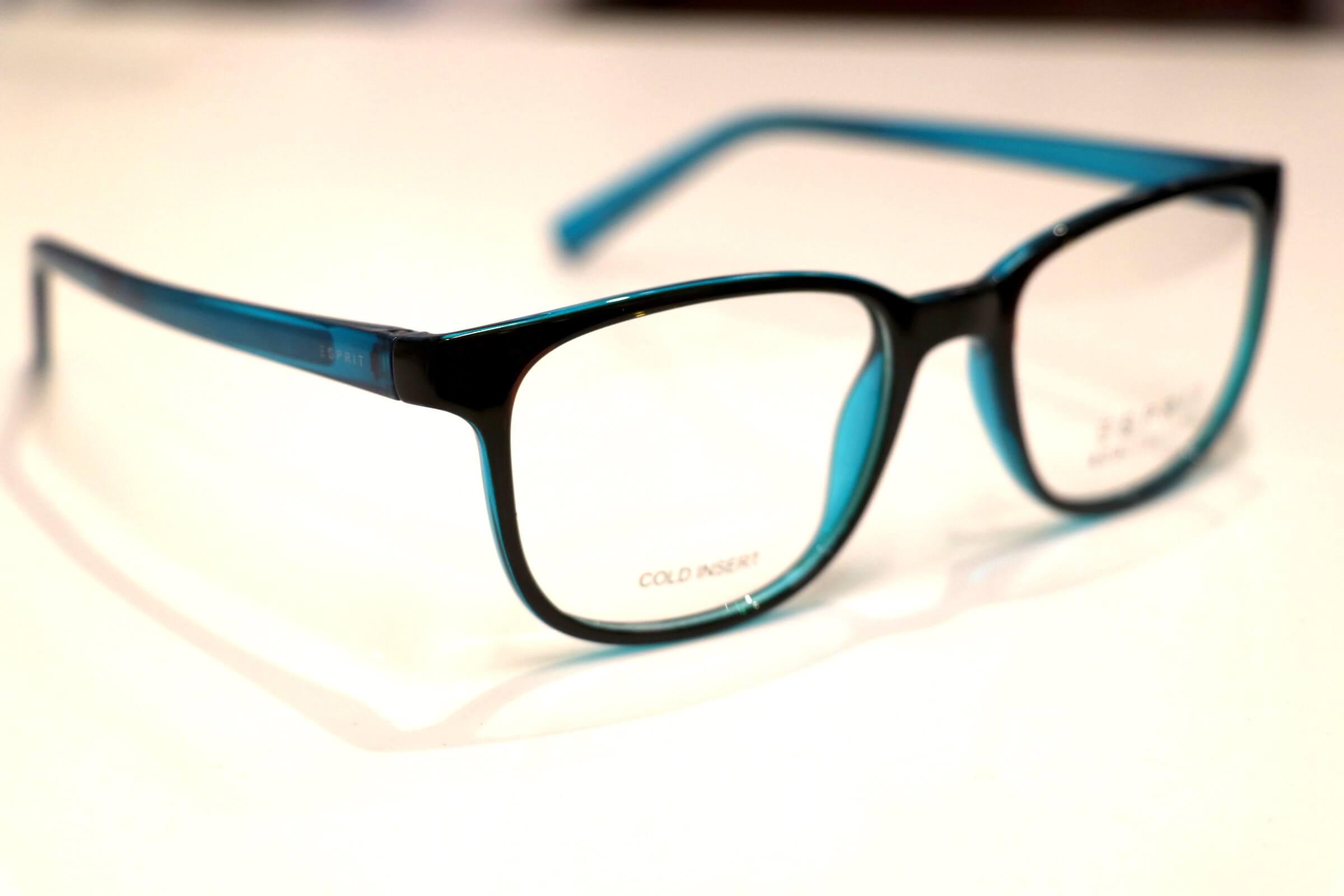 Blaue Brille von Esprit - Ecollection