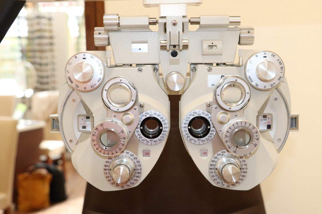 Gerät für Brillenglasbestimmung