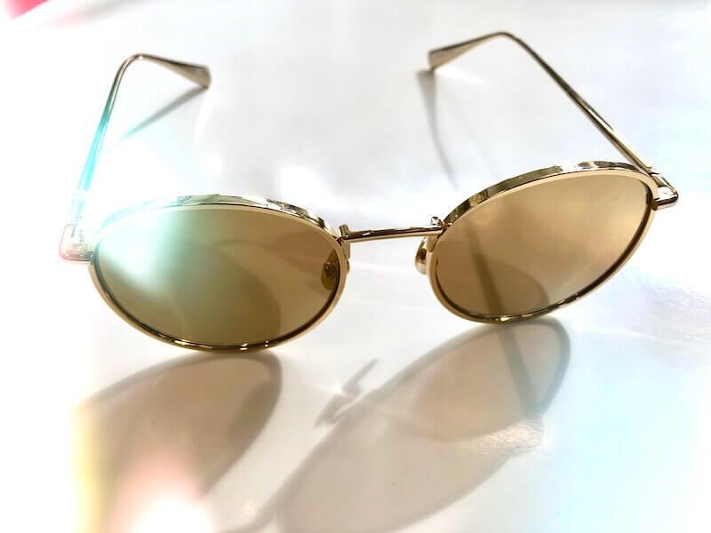 Brillentrends - Sonnenbrille mit Metallrand