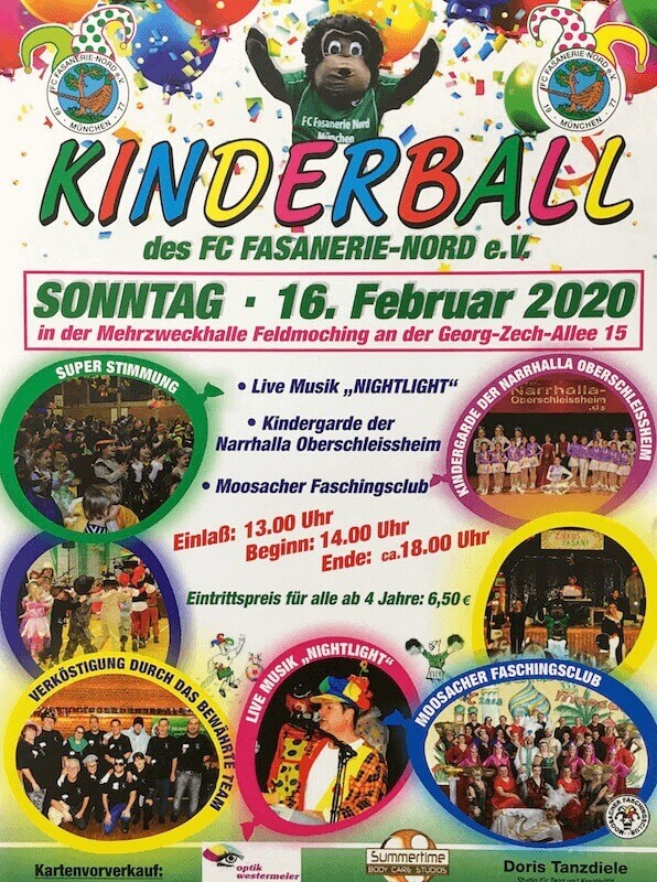 Kinderball-FC-Fasanerie-Nord