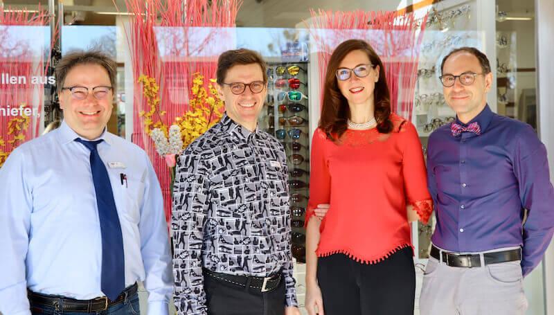 Ihr Optiker in München - Teamfoto von Optik Westermeier