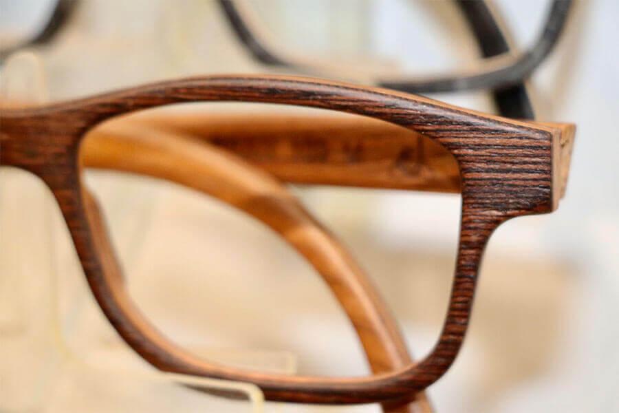 Schöne Brillen - Holzbrille Wood Fellas