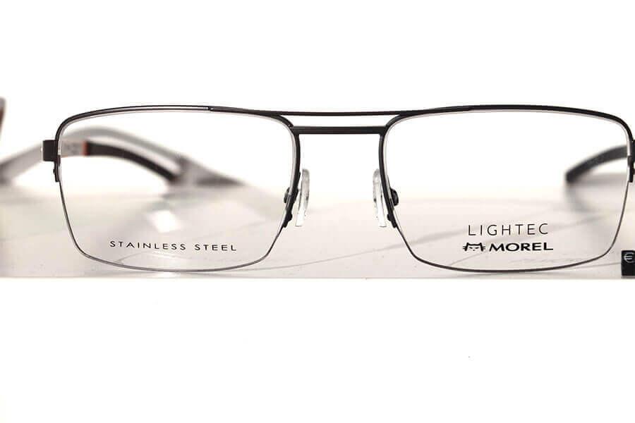 Schwarze Brille von Morel